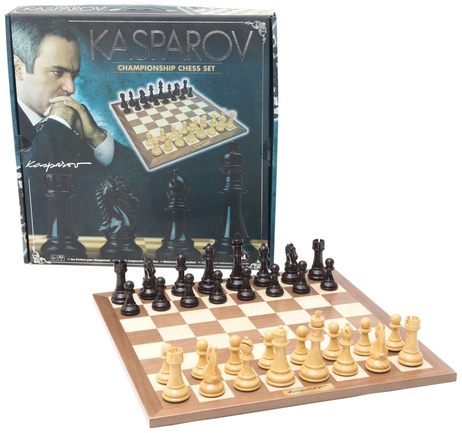 France Cartes Chess Kasparov Case – 40 cm – kas008