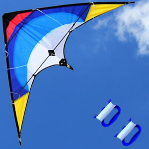 FREE-Shpping-NEW-53-034-Sport-Dual-line-Control-outdoor-Stunt-Kite-fun-to-Fly