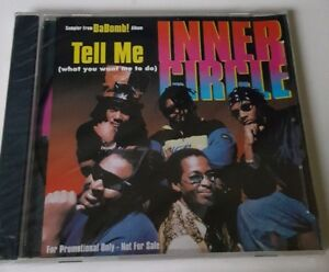 Inner-Circle-Tell-Me-Maxi-Single-Promo-CD-1997-SBCD-0001-597-Rare-Sealed-New-OOP