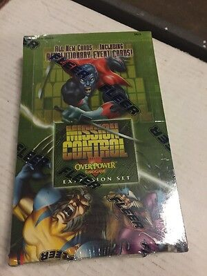 OVERPOWER Marvel Mission Control 36 Pack CCG BOOSTER BOX RARE Factory Sealed