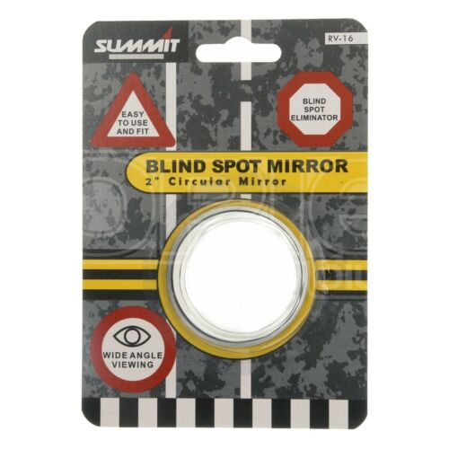 Driving Summit Convex Blind Spot Mirror Small Parking for Cars /& Bikes
