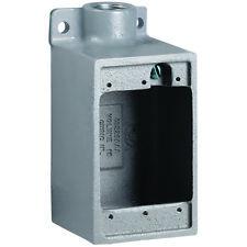 Fd 2 Killark Fd 34 Inch Aluminum Deep Device Box