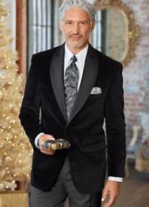 usura uomo nero cena velluto Cappotto elegante del della nuziale sportiva della festa di della giacca da S7ZqYF