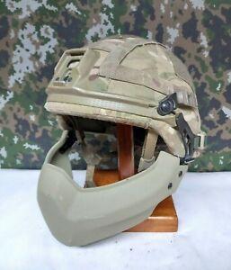 British Army SAS Surplus Revision Cobra Batlskin Virtus Ballistic Hel met & Jaw