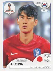 497 Lee Yong Korea Republic Update Sticker World Cup Russia 2018 Panini 93tahmqf-07233747-606141088