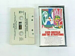 Elvis-Costello-And-The-Attractions-IbMePdErRoLoAmL-Cassette-Tape-1982-FCT38157