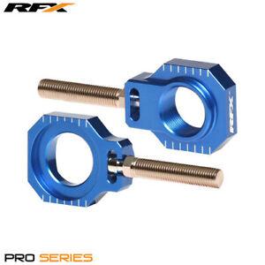Husqvarna-FC-350-2016-RFX-Pro-Series-2-Blue-Rear-Wheel-Axle-Adjuster-Blocks