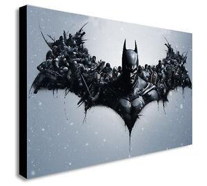 Batman-Dark Knight caractères Toile Wall Art encadrée Imprimer. Divers Tailles  </span>