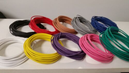 1000 FEET AUTOMOTIVE PRIMARY WIRE 12 GAUGE AWG HIGH TEMP GXL 10 COLORS 100 FT EA