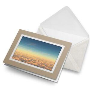 Greetings-Card-Biege-Above-Clouds-Pilot-Sunset-Plane-21076
