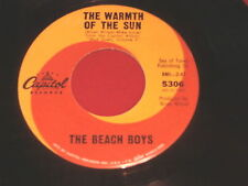BEACH BOYS~THE WARMTH OF THE SUN~DANCE DANCE DANCE~CAPITOL 5306 ~ POP 45