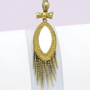 Antique-Victorian-14k-Gold-Etruscan-Revival-Mother-of-Pearl-Tassel-Pendant