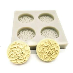 Arabic Font Letter Ramadan Silicone Cake Mold DIY Chocolate Fondant mould