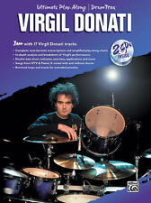 Virgil Donati Ultimate Play-Along Drum Drum Teaching Material Donati, Virgil