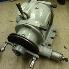 K Amp T 51 Dividing Head 50 Taper Exc Condition Milwaukee Kearney Amp Trecker