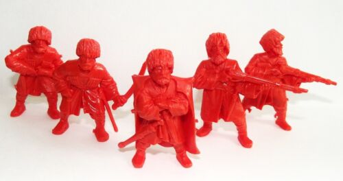 Orange color 1//32 Tehnolog Highlanders of the Caucasus Plastic toy soldiers