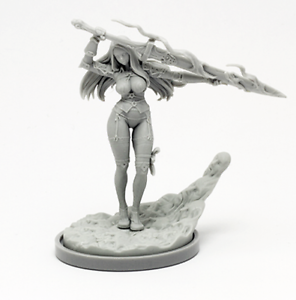 30mm-Resin-Kingdom-Death-Knight-Variant-Unpainted-Unassembled-WH300