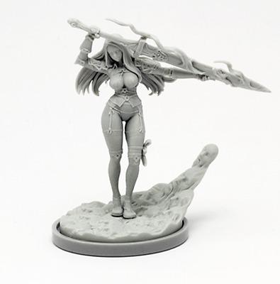 █ 30mm Resin Sci-fi Twilight Knight Kingdom Death Unbuild ONLY Figure WH033