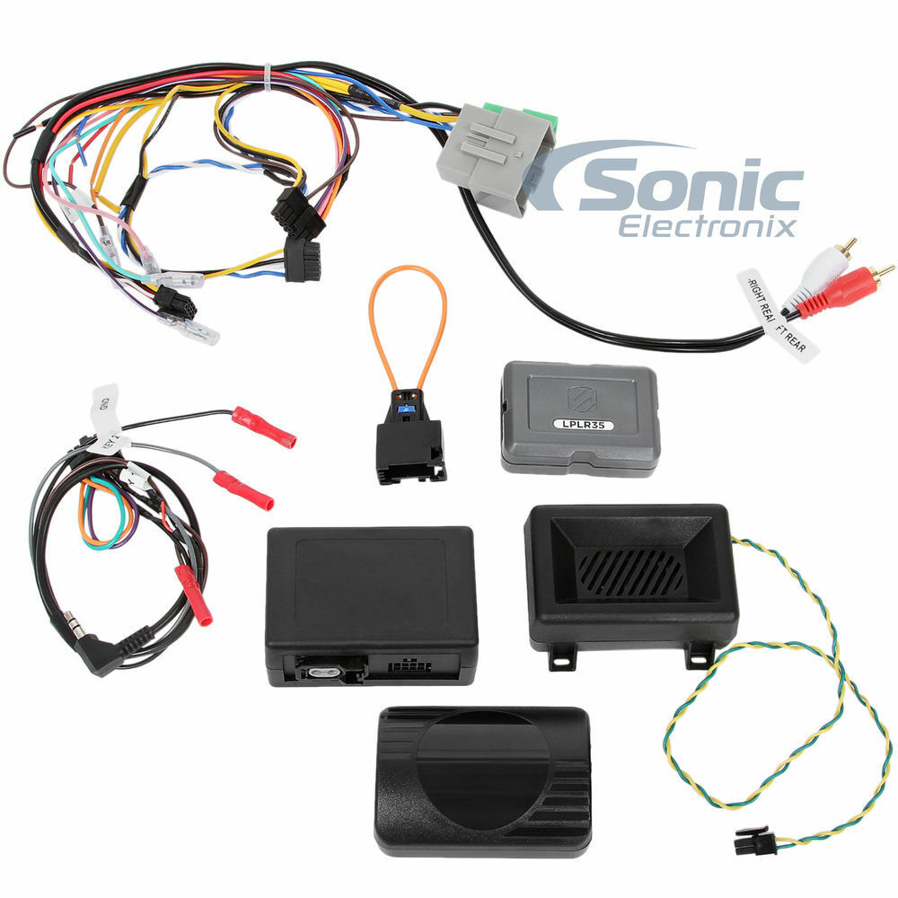 scosche lplr35 wire harness 2007-14 land rover link + interface w/ swc  retention for sale online  ebay