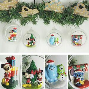 DISNEY-Figur-KUGEL-Ornament-Auswahl-Baumschmuck-Christbaum-Weihnachten-Micky