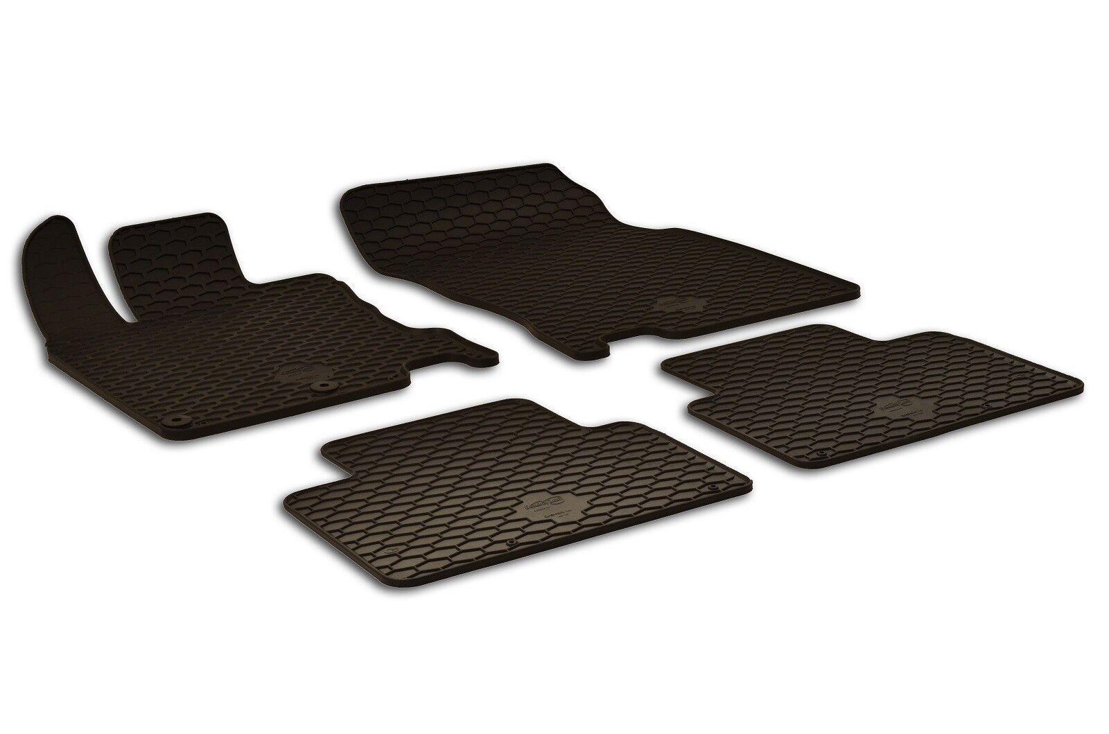 Original Lengenfelder Gummimatten passend für Nissan Qashqai J11 Gummi Fußmatten