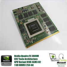 HP 596063-001 NVIDIA QUADRO FX 3800m N10e-glm3 Graphics Board - 1gb