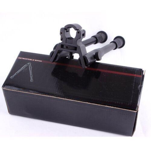 "De 8/"" a 10/"" Acero Soporte Bajo Profil Airgun rifle bípode ajustable giratoria de montaje Stud"