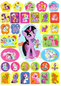 Image Is Loading My Little Pony Stickers Amp Coloring Book