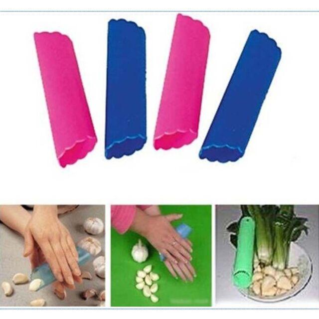 Magic Silicone Garlic Peeler Peel Easy Kitchen Tool Cooking Crusher Utensils HG