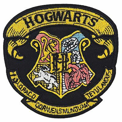 Harry Potter School Crest Iron On Embroidered Patch Badge Wizard Costume