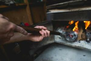 Pit-Master-Tending-the-Fire-Photo-Art-Print-Poster-24x36-inch