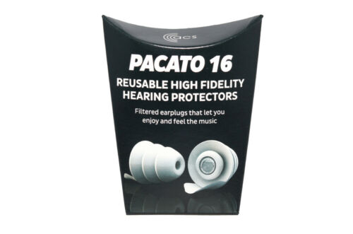 ACS Pacato earplugs carry case protection music musician concert festival