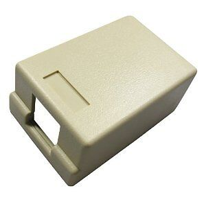 Allen Tel Products AT33S-09 Versatap Surface Mount Box 1 Port With Tamper Resi