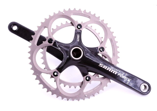 SRAM FORCE Cycling Carbon Crank Crankset Double 53//39 172.5 175 GXP Road No BB