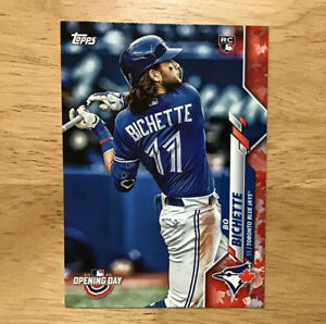2020-Topps-Opening-Day-Baseball-Rookie-Canadian-Exclusive-Parallel-Bo-Bichette