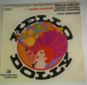 Hello-Dolly-Barbra-Streisand-Walter-Matthau-Louis-Armstrong-LP-Record