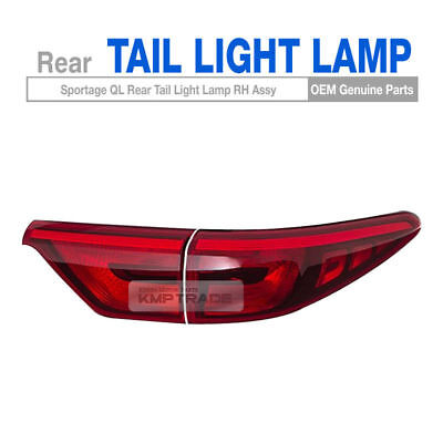 OEM Genuine Parts Rear Tail Light Lamp Assembly Right 2P for KIA 17-20 Sportage