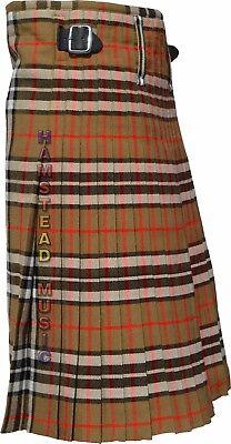 Scottish Highland Wears Modern Camel Thompson 16 Oz Tartan Traditional New Kilts
