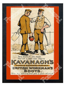 Historic-Kavanagh-039-s-Boots-1910s-Advertising-Postcard