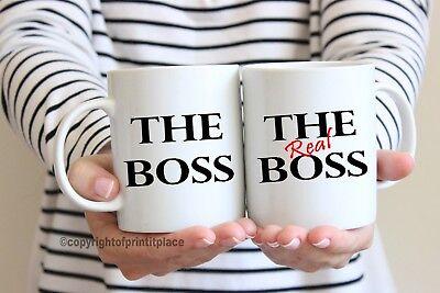 Boss Boss Reale Lui E Lei Premium Tè/tazza Caffè Coaster 10/15oz/magic- Facile E Semplice Da Gestire