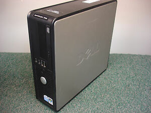 Details about DELL OPTIPLEX 755 SFF COMPUTER PC PENTIUM DUAL CORE 2 0GHz  3GB PU052 PW124 F/S