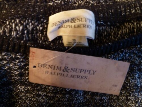 con Supply etichette Ralph Nuovo Lauren Denim Knitted Top wwYEr