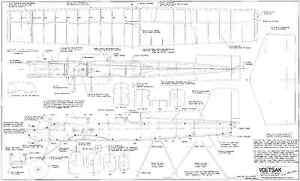 Importé De L'éTranger Voetsak Classique Ligne De Contrôle Stunt Plans-afficher Le Titre D'origine