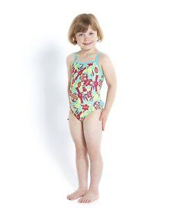 Speedo-Maedchen-Baby-Badeanzug-Einteiler-Essential-Gr-104