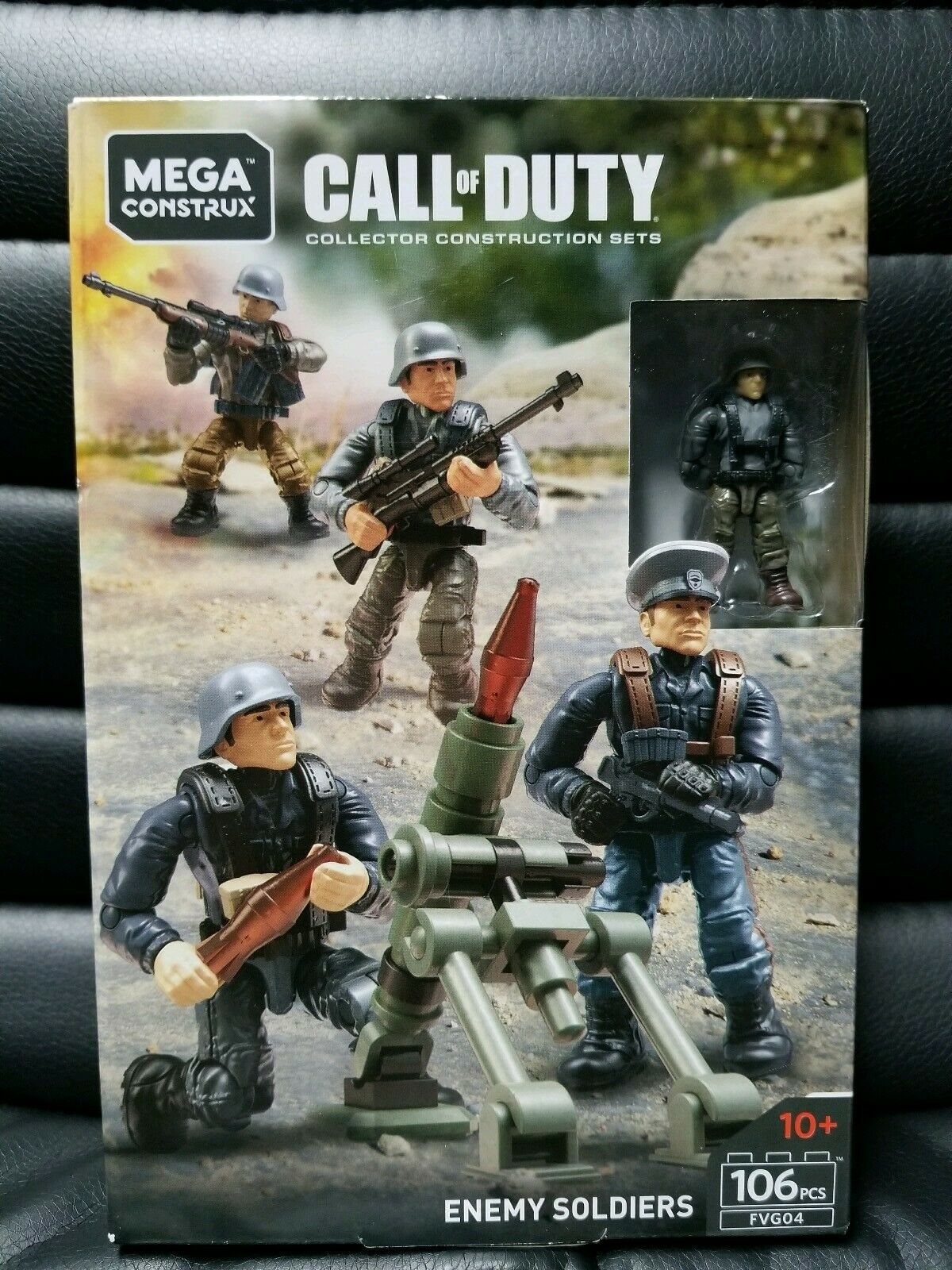 Mega Construx Call Call Call Of Duty Enemy Soldiers Weapon BRAND NEW f789b0