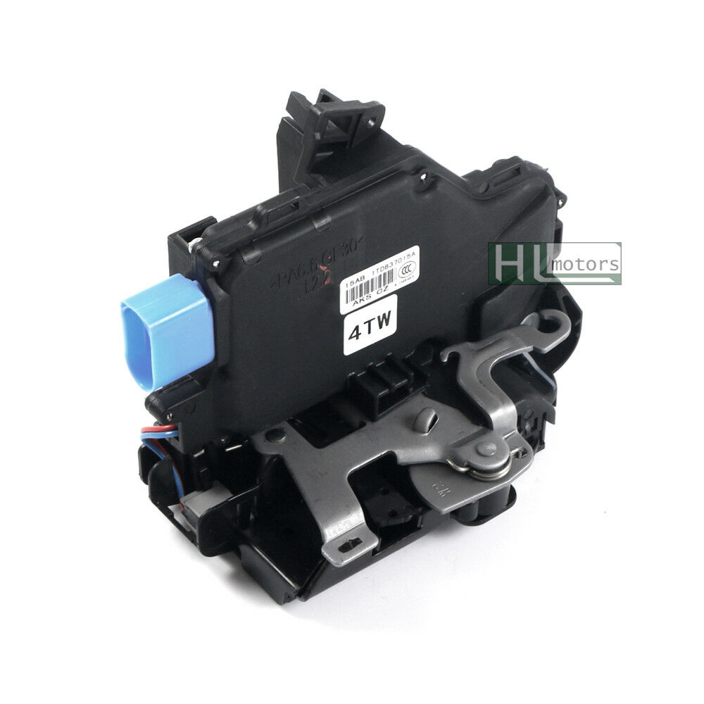 Door Lock Latch Actuator Front Left Driver for Porsche Cayenne VW Phaeton 9 Pin Replace# 3D1837015AB