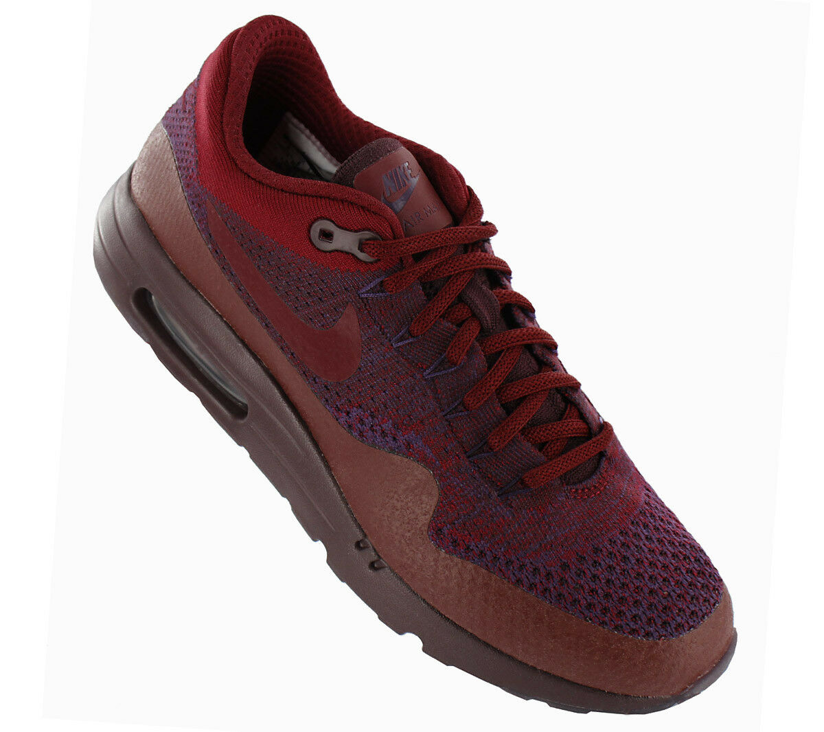 NEW Nike Air Max 1 Ultra Flyknit 856958-566 Men''s shoes Trainers Sneakers SALE