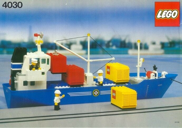NEW Lego Classic Town BOATS BOATS BOATS 4030 Cargo Carrier - SEALED   Ships World Wide 3a529b