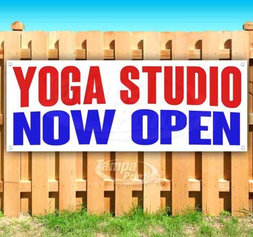YOGA STUDIO NOW OPEN Advertising Vinyl Banner Flag Sign Many Sizes