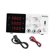 Dc Power Supply Variable 30v 10a 4 Digital Led Display Precision Adjustable